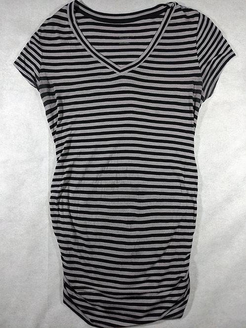 Liz Lange, Short sleeve striped vneck, tunic, S
