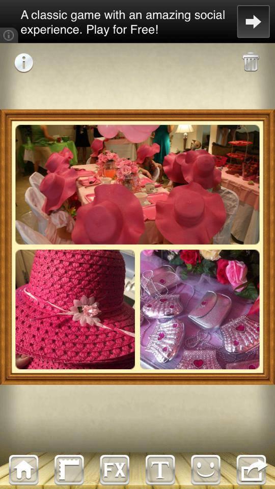 4 Girl Princess Tea Parties