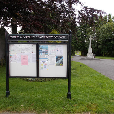 Stepps & District Community Council Notice Board