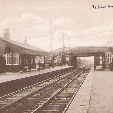 Original Stepps Railway Station