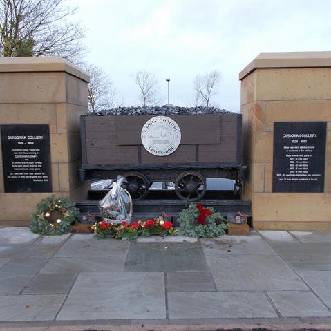Cardowan Colliery Mining Memorial