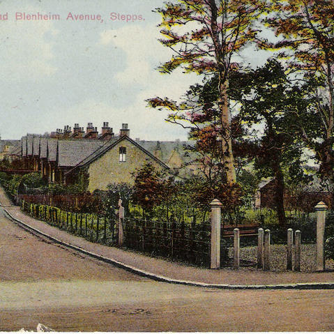 War Memorial and Blenheim Avenue