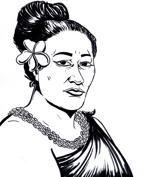 Kumu Hina - Queer Heroes Coloring Book