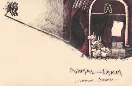 Animal Farm - Book Cover