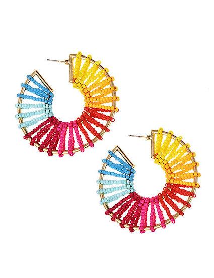 Jojo Hoop Earrings
