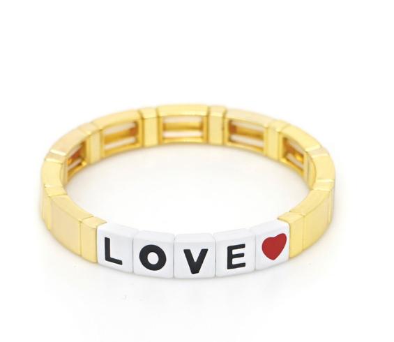 Message Stretch Bracelets