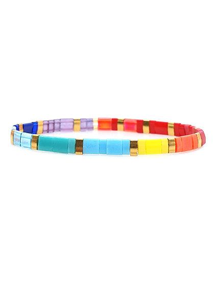 Leah Rice Seed Bracelet