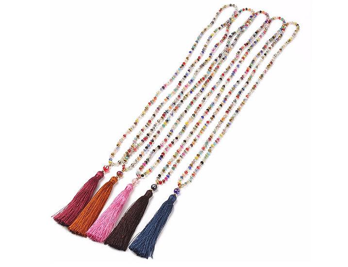 Lulu Tassel Necklace