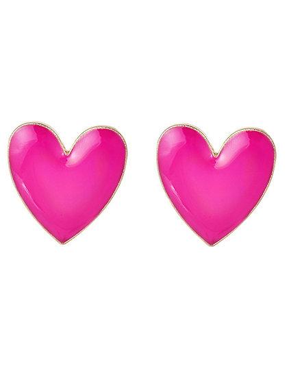 Kenzi Heart Earrings