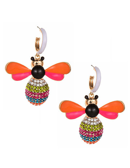 Beatrice Bee Earrings