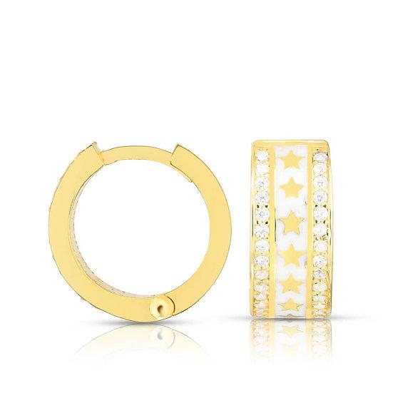 Sammi Star Huggie Earrings