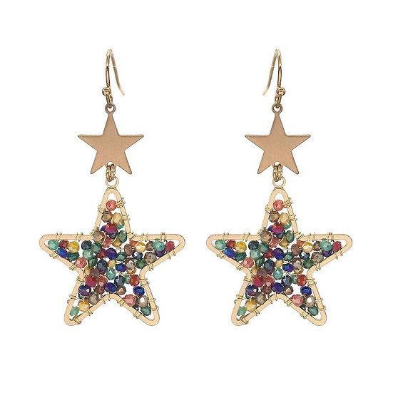 Lee Star Earrings