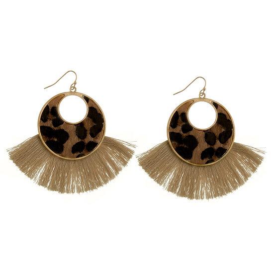 Taj Animal Print Earrings