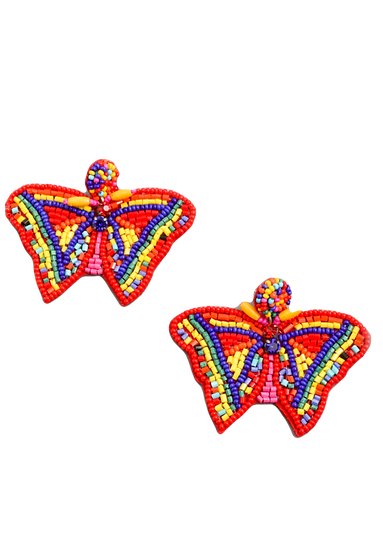 Bebe Butterfly Earrings