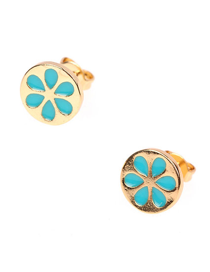 Avia Enamel Stud Earrings