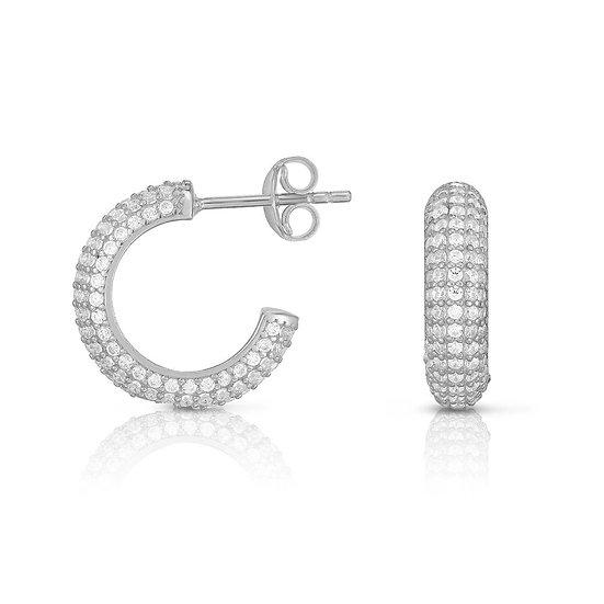Amelia Huggie Hoop Earrings