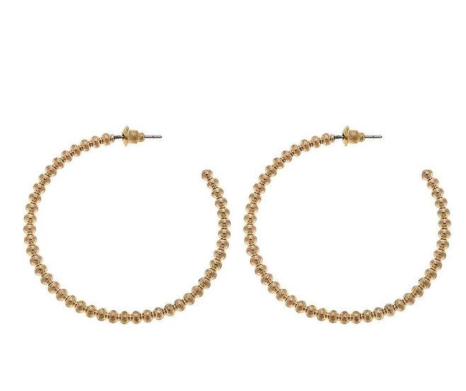 Evie Hoop Earrings