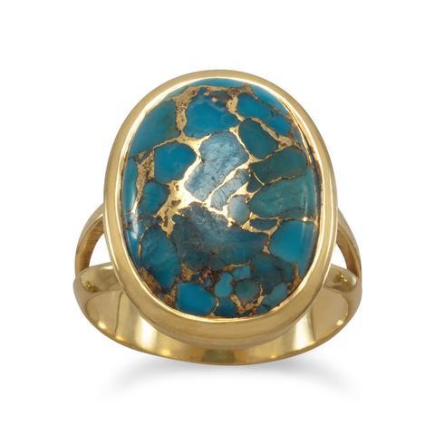 Lori Turquoise Ring