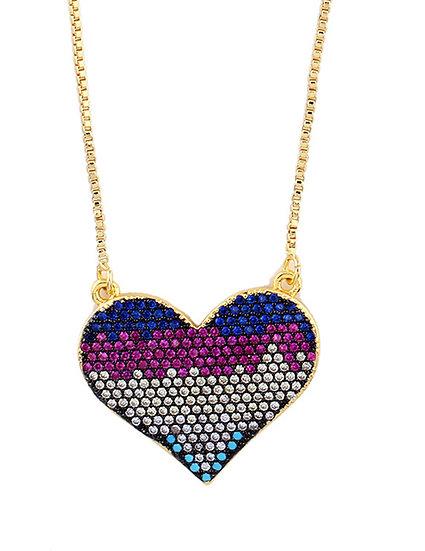 Mia Heart Pendant Necklace