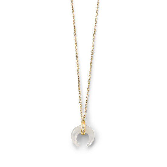 Hailey Crescent Necklace