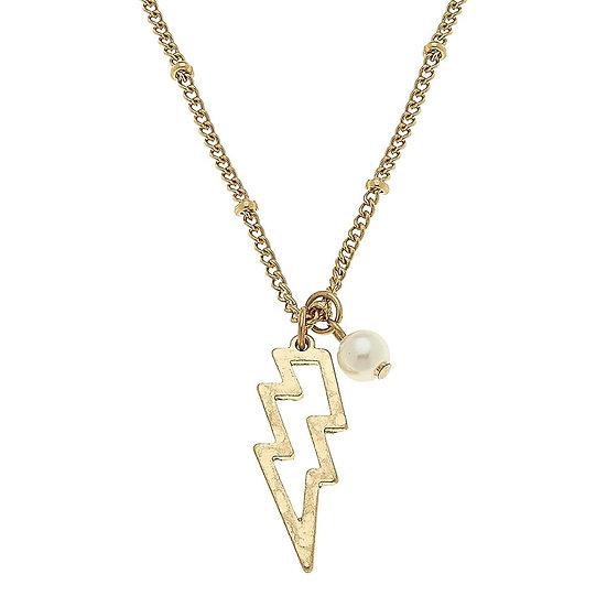 Zippy Lightening Bolt Necklace