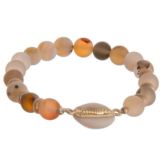 Cowrie Shell Stretch Bracelet