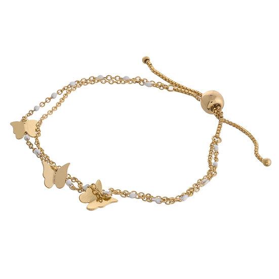 Bebe Butterfly Bracelet