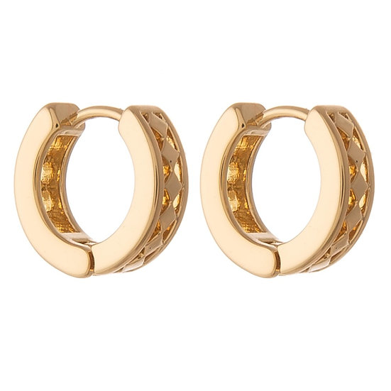 Mandy Huggie Hoop Earrings