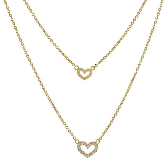 Palma Dainty Heart Necklace