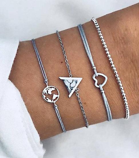 Ellie Bracelet Set