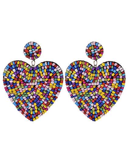 Harlan Heart Earrings