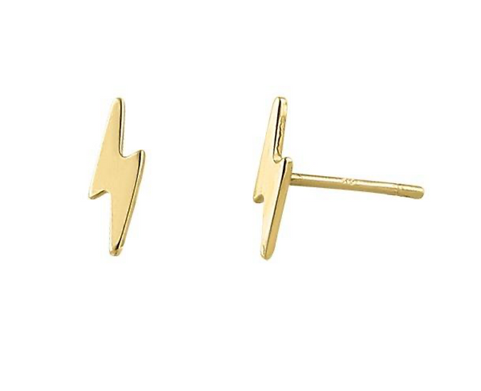 Bria Gold Stud Earrings