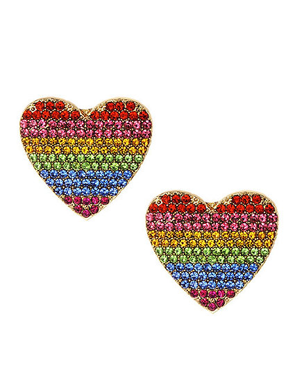 Trine Heart Earrings