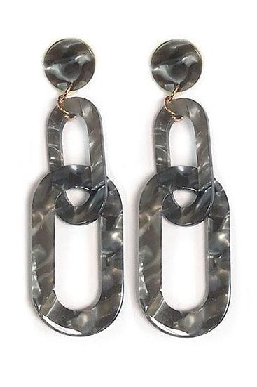 Diane Resin Drop Earrings