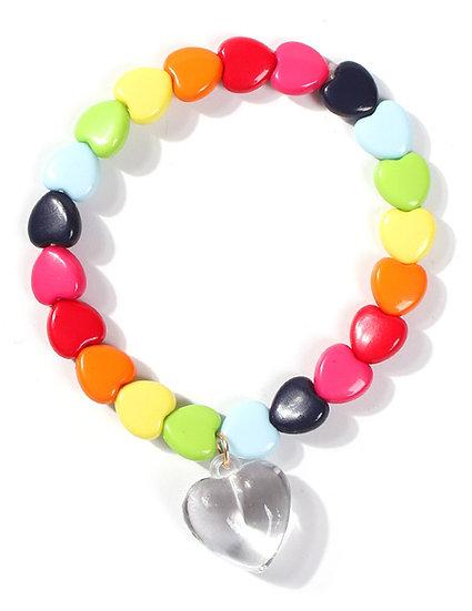 Glennon Heart Bead Bracelet