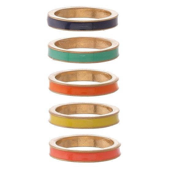 Sorcha Ring Set