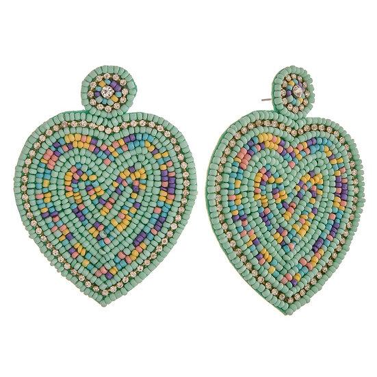 Hildy Heart Earrings