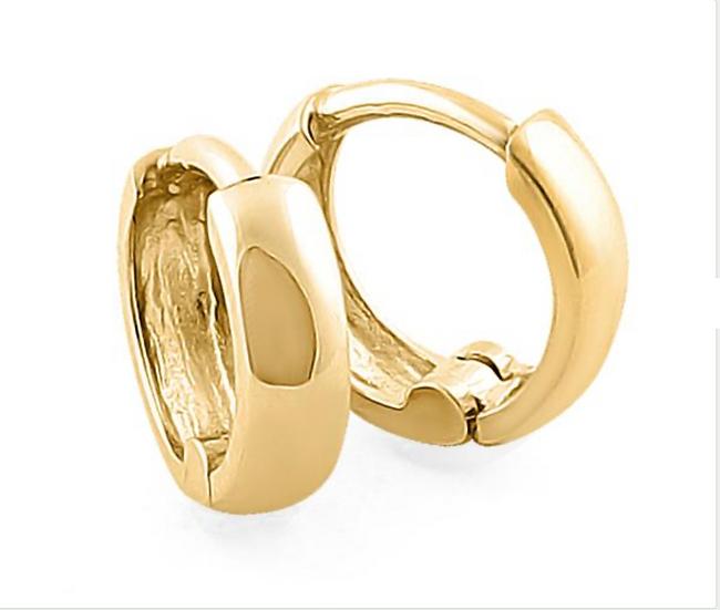 Hayden Huggie Gold Earrings