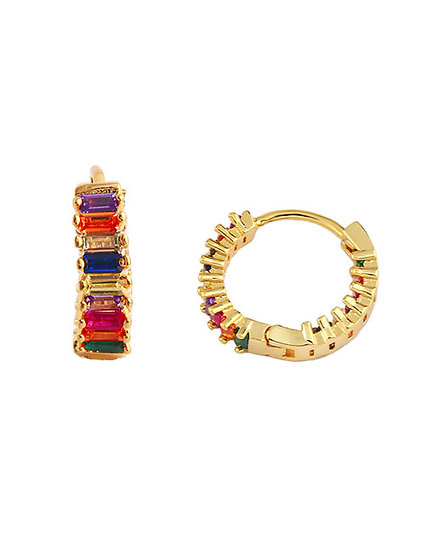 Cira Hoop Earrings