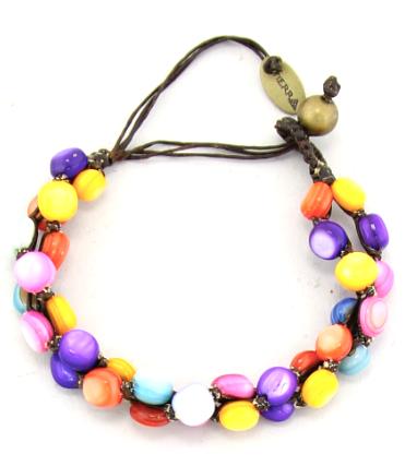 Handmade Braided Shell Bracelet