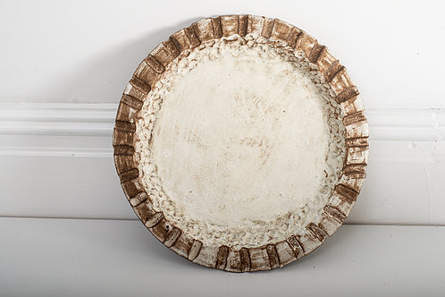 1x large serving plate