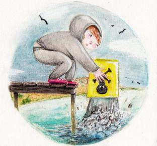Earth Card Illustration - 'Splash'