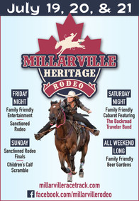 Millarville Rodeo Ad