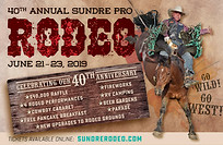 Sundre Rodeo Ad