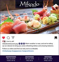 Mikado Edmonton Ad