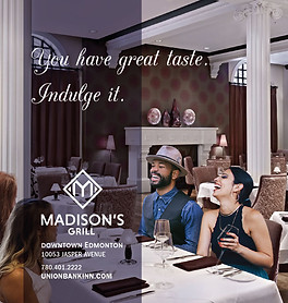 Madison's Grill Ad