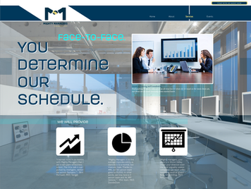 MM Web Design Concept - Services