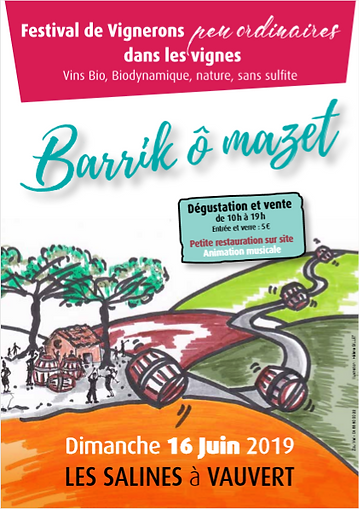 Evenement Barrik O Mazet du 16_06_2019 .