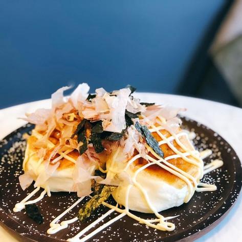 Okonomiyaki Souffle Pancakes
