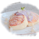 Taro Lover's Souffle Pancakes